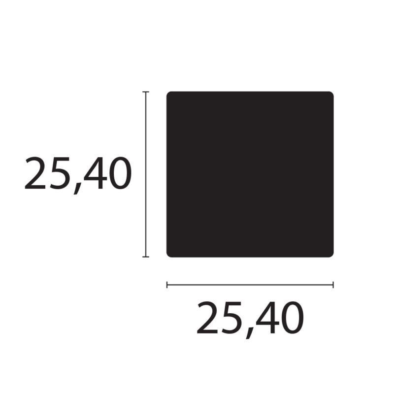 barra cuadrada C009