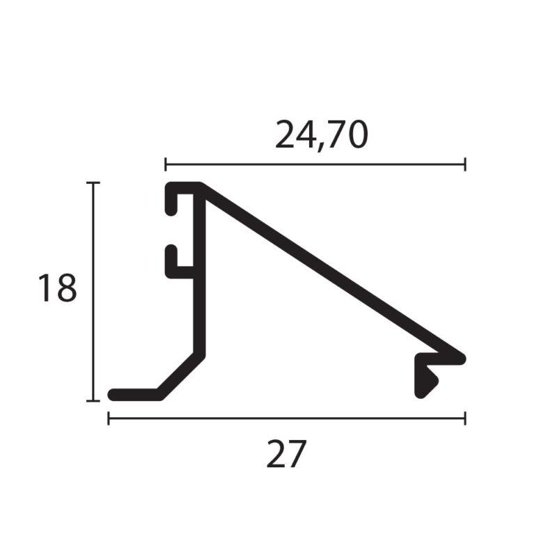 pisavidrio plano 3831 proyectante