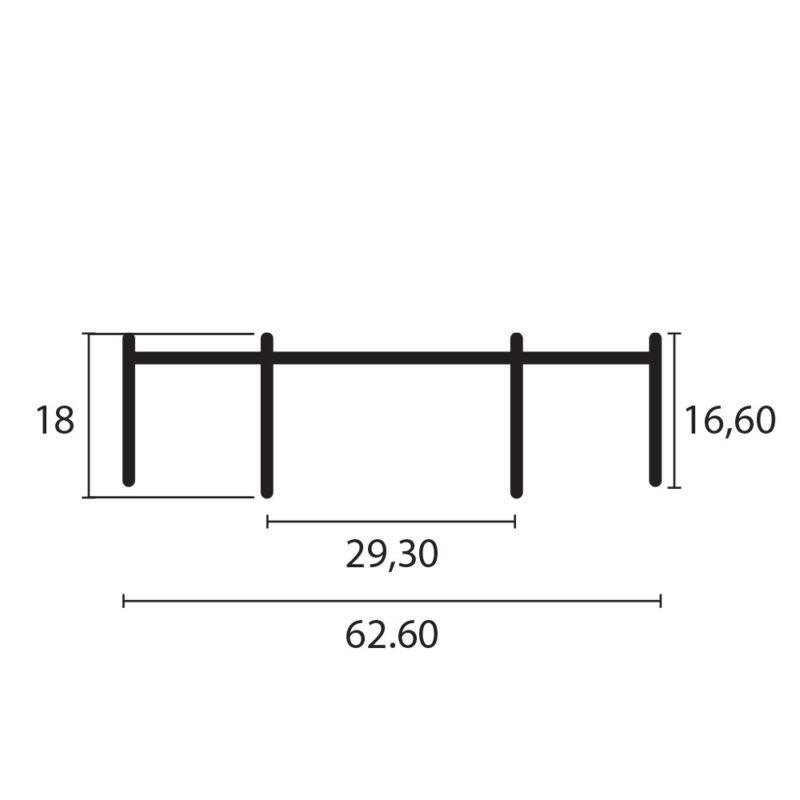 marco superior 744