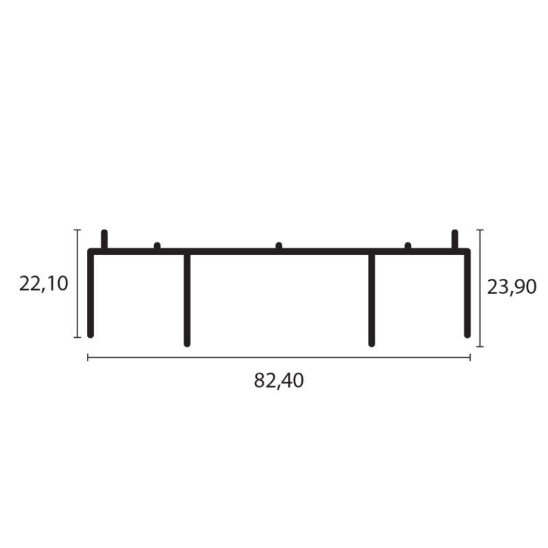 marco superior 8025