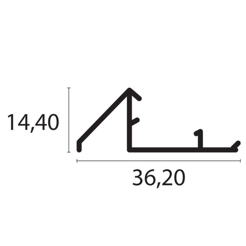S343 - Perfil hembra