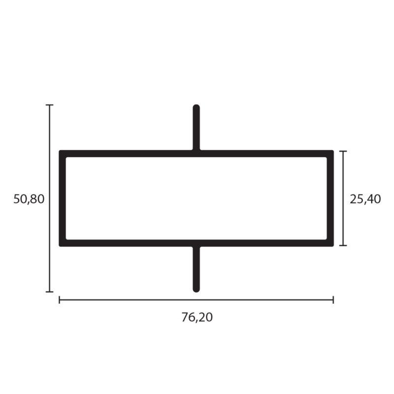 tubular 3x1 doble aleta